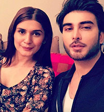 Imran Abbas and Kubra Khan